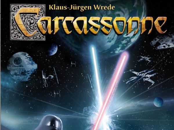 Bild zu Frühjahrs-Neuheiten-Spiel Carcassonne: Star Wars