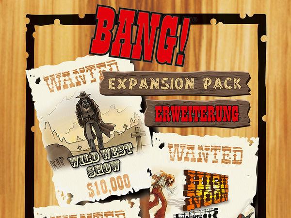 Bild zu Frühjahrs-Neuheiten-Spiel Bang! Expansion Pack
