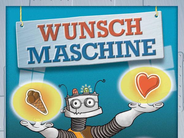 Bild zu Frühjahrs-Neuheiten-Spiel Wunschmaschine