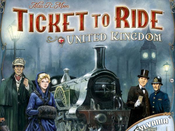 Bild zu Alle Brettspiele-Spiel Zug um Zug: Vereinigtes Königreich