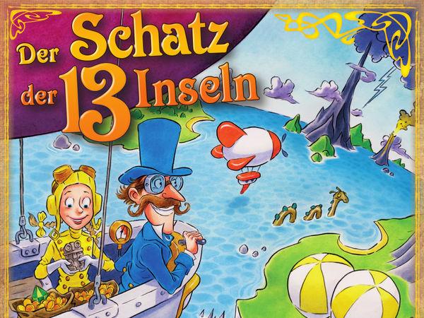 Bild zu Alle Brettspiele-Spiel Der Schatz der 13 Inseln