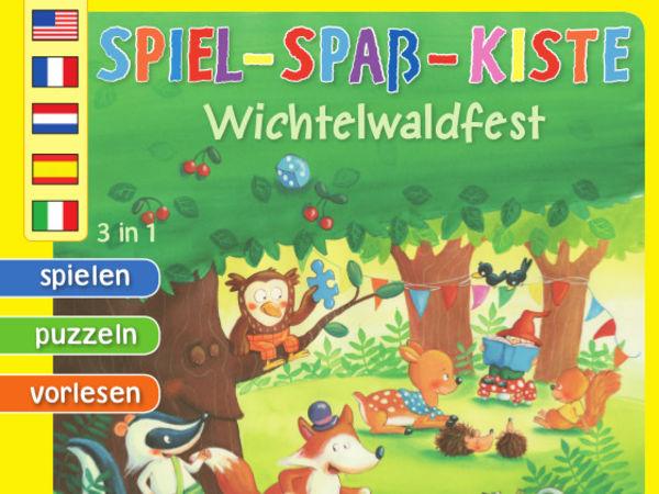 Bild zu Alle Brettspiele-Spiel Spiel-Spaß-Kiste: Wichtelwaldfest