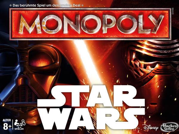 Bild zu Frühjahrs-Neuheiten-Spiel Monopoly Star Wars Edition