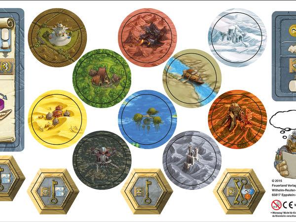 Bild zu Frühjahrs-Neuheiten-Spiel Terra Mystica: Erweiterungsbogen