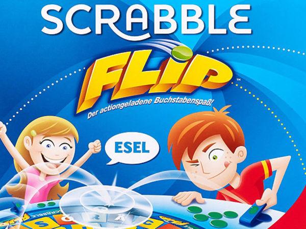 Bild zu Frühjahrs-Neuheiten-Spiel Scrabble Flip