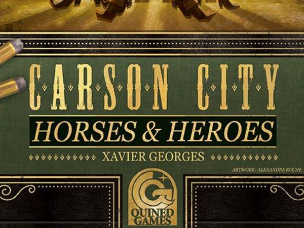 Bild zu Frühjahrs-Neuheiten-Spiel Carson City: Horses & Heroes