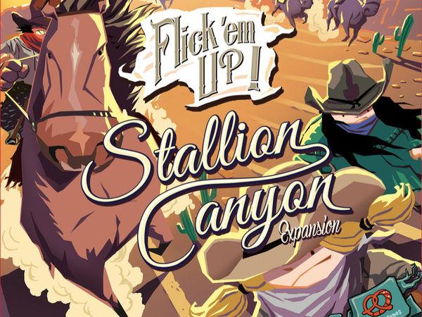 Bild zu Frühjahrs-Neuheiten-Spiel Flick 'em Up! Stallion Canyon