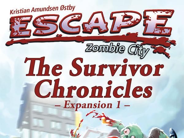 Bild zu Frühjahrs-Neuheiten-Spiel Escape: Zombie City - The Survivor Chronicles