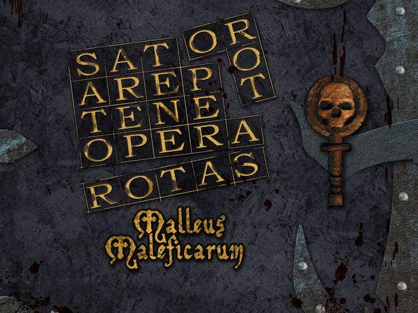 Bild zu Alle Brettspiele-Spiel Sator Arepo Tenet Opera Rotas: Malleus Maleficarum