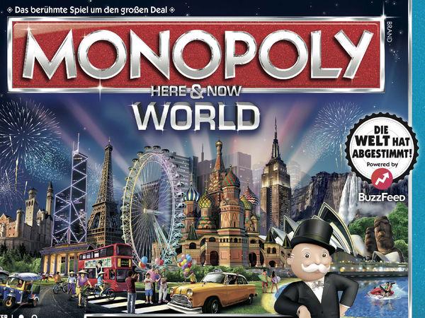 Bild zu Frühjahrs-Neuheiten-Spiel Monopoly: World