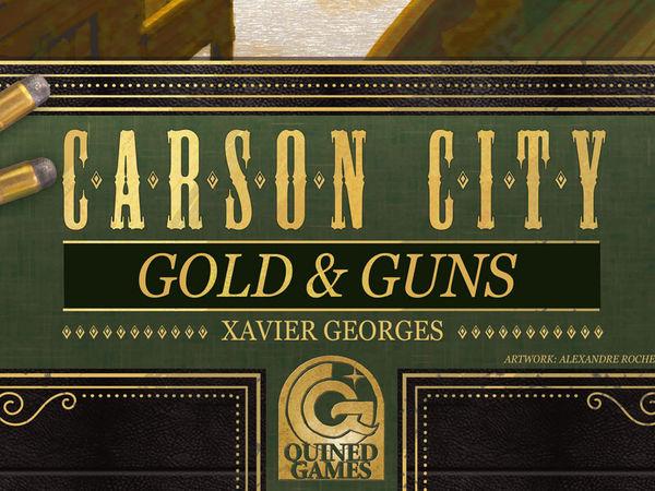 Bild zu Frühjahrs-Neuheiten-Spiel Carson City: Gold & Guns