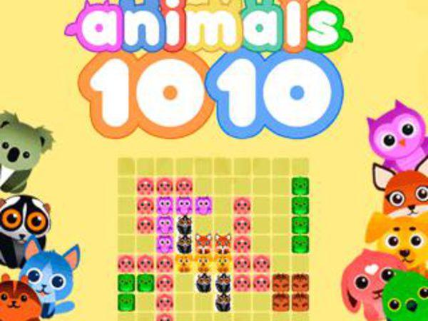 Bild zu Top-Spiel 1010 Animals