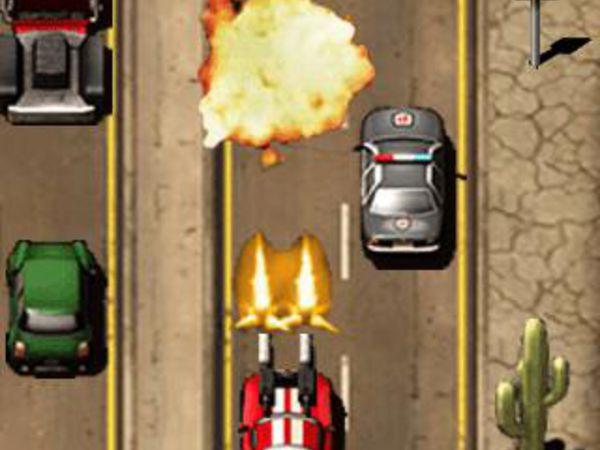 Bild zu Top-Spiel Burnin Rubber