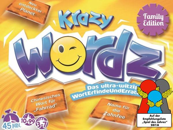 Bild zu Frühjahrs-Neuheiten-Spiel Krazy Wordz
