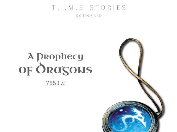 Bild zu Frühjahrs-Neuheiten-Spiel T.I.M.E. Stories: Die Drachenprophezeiung