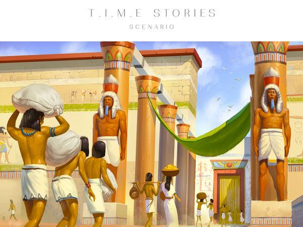 Bild zu Frühjahrs-Neuheiten-Spiel T.I.M.E. Stories: Hinter der Maske