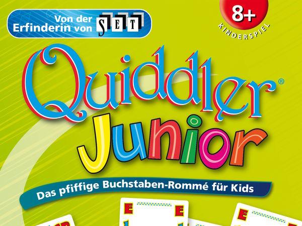 Bild zu Frühjahrs-Neuheiten-Spiel Quiddler Junior