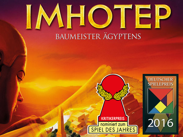 Bild zu Ausgezeichnet-Spiel Imhotep