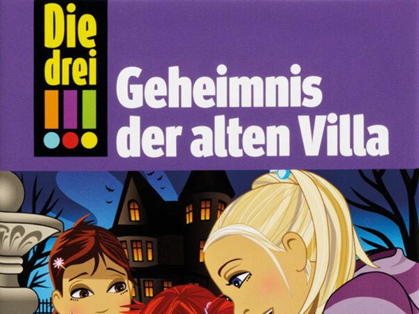 Bild zu Frühjahrs-Neuheiten-Spiel Die drei !!!: Geheimnis der alten Villa