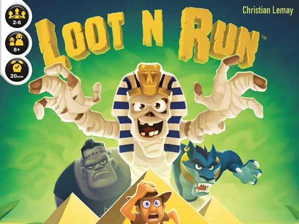 Bild zu Alle Brettspiele-Spiel Loot N Run