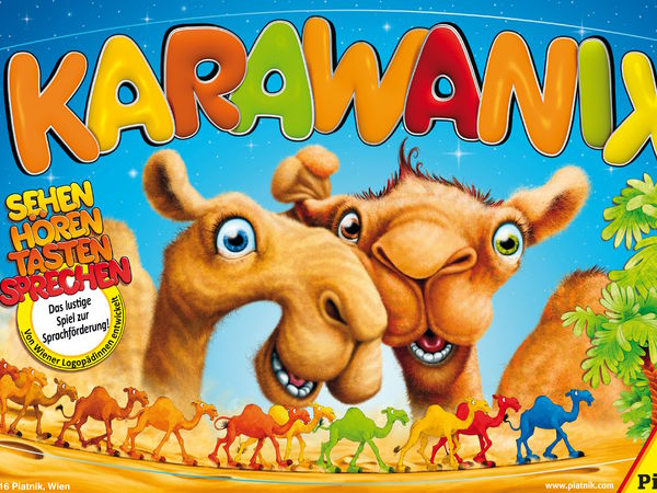 Bild zu Frühjahrs-Neuheiten-Spiel Karawanix