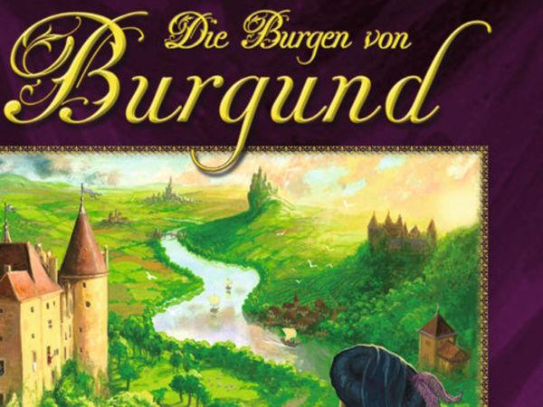 Bild zu Frühjahrs-Neuheiten-Spiel Die Burgen von Burgund: Das Kartenspiel
