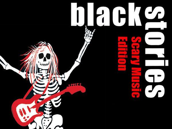 Bild zu Frühjahrs-Neuheiten-Spiel Black Stories: Scary Music Edition