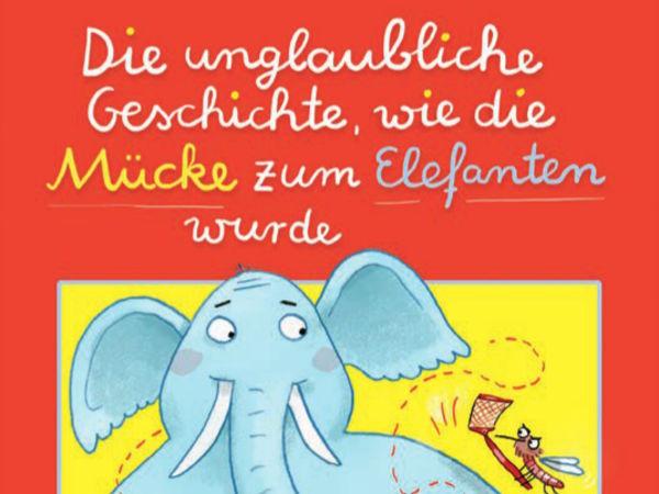 Bild zu Frühjahrs-Neuheiten-Spiel Die unglaubliche Geschichte wie die Mücke zum Elefanten wurde