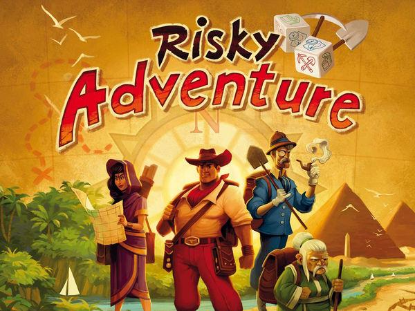 Bild zu Alle Brettspiele-Spiel Risky Adventure