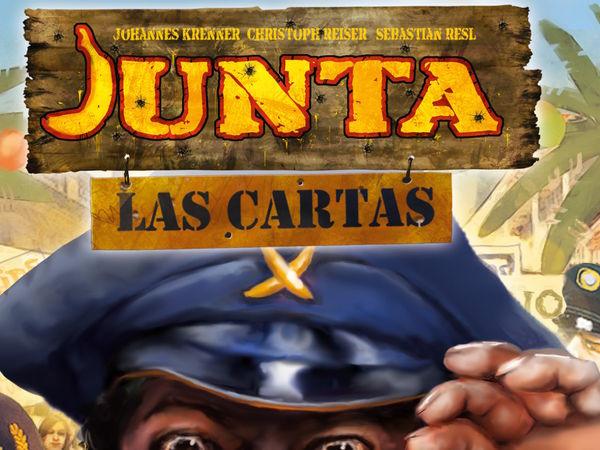 Bild zu Frühjahrs-Neuheiten-Spiel Junta: Las Cartas
