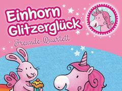 Einhorn Glitzerglück: Freunde-Quartett
