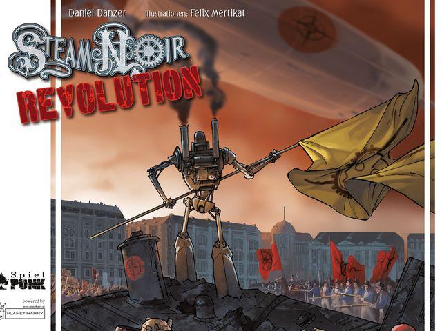 Steam Noir: Revolution Bild 1