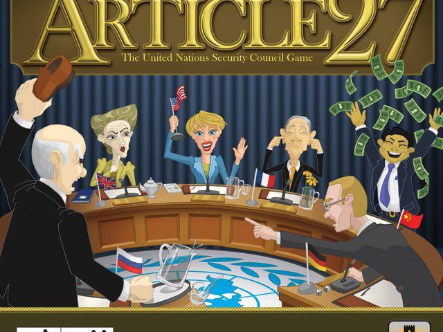 Article 27: The UN Security Council Game Bild 1