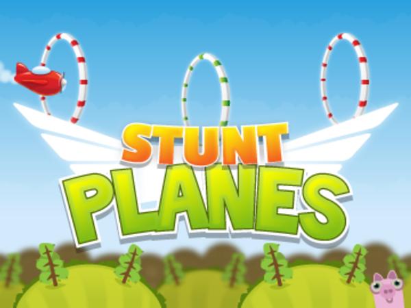 Bild zu HTML5-Spiel Stunt Planes