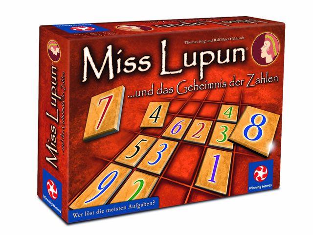 Miss Lupun und das Geheimnis der Zahlen Bild 1