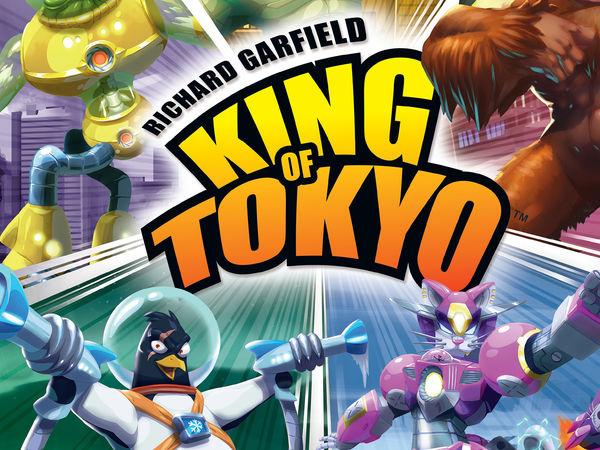 Bild zu Frühjahrs-Neuheiten-Spiel King of Tokyo - Neuauflage