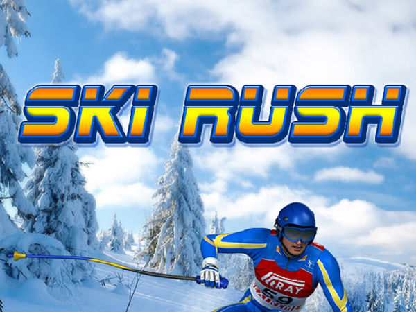 Bild zu HTML5-Spiel Ski Rush