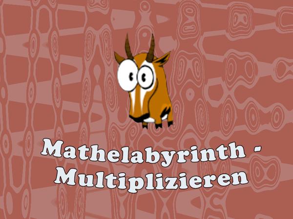 Bild zu Neu-Spiel Mathelabyrinth -  Multiplizieren