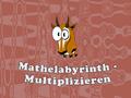 Denken-Spiel Mathelabyrinth -  Multiplizieren spielen