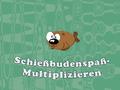 Geschick-Spiel Schießbudenspaß - Multiplizieren spielen