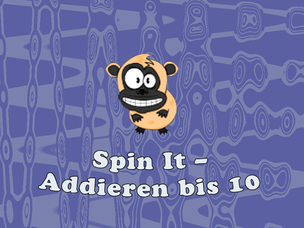 Bild zu Neu-Spiel Spin It - Addieren bis 10