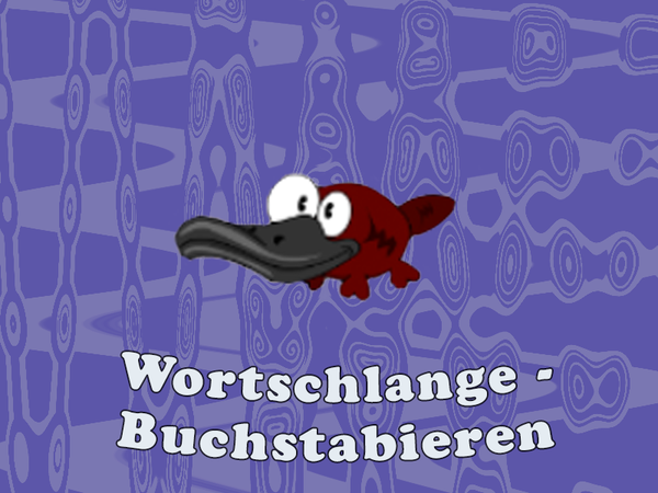 Bild zu Neu-Spiel Wortschlange - Buchstabieren