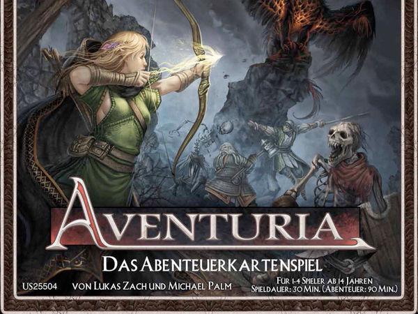 Bild zu Frühjahrs-Neuheiten-Spiel Aventuria Abenteuerkartenspiel