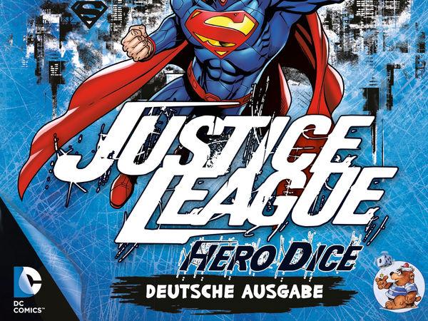 Bild zu Frühjahrs-Neuheiten-Spiel Justice League: Hero Dice - Superman-Set