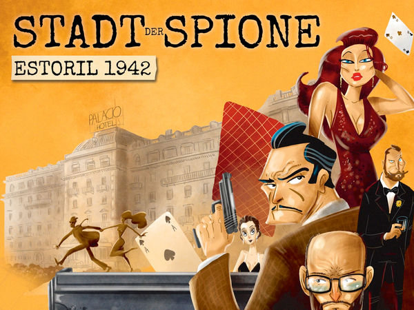 Bild zu Frühjahrs-Neuheiten-Spiel Stadt der Spione: Estoril 1942