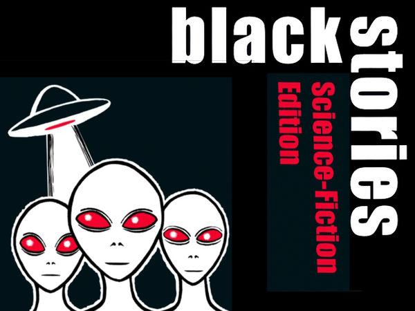 Bild zu Frühjahrs-Neuheiten-Spiel Black Stories: Science-Fiction Edition