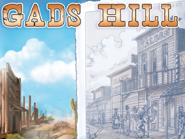 Bild zu Alle Brettspiele-Spiel Gads Hill 1874