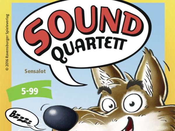 Bild zu Frühjahrs-Neuheiten-Spiel Sound Quartett