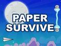 Geschick-Spiel Paper Survive spielen