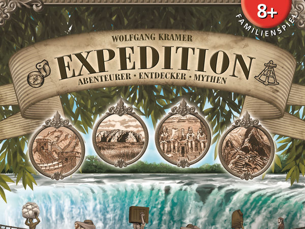 Bild zu Frühjahrs-Neuheiten-Spiel Expedition: Abenteurer, Entdecker, Mythen